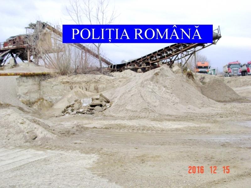 Perchezitii in Galati evaziune fiscala cu agregate minerale si produse panificatie