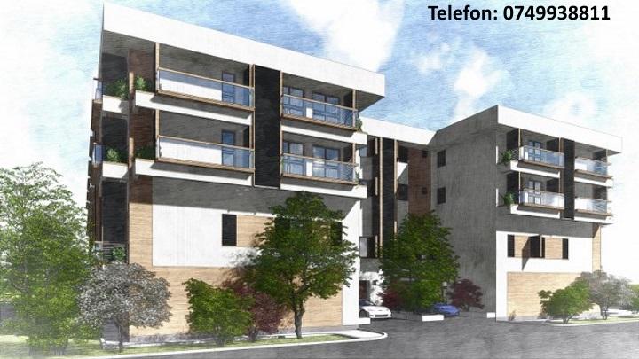 Vand apartamente noi cu o camera, doua si trei camere in Braila, strada Celulozei nr. 4, inclusiv locuri de parcare