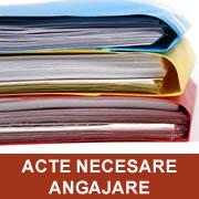 Acte necesare angajare
