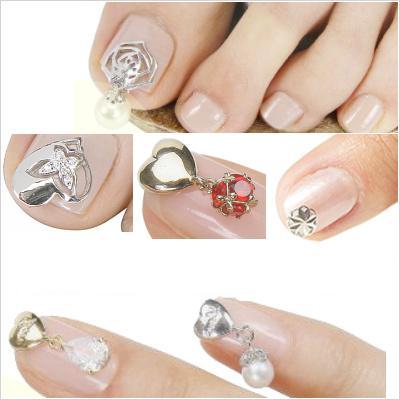 Bijuterii pe unghii cu gel 5