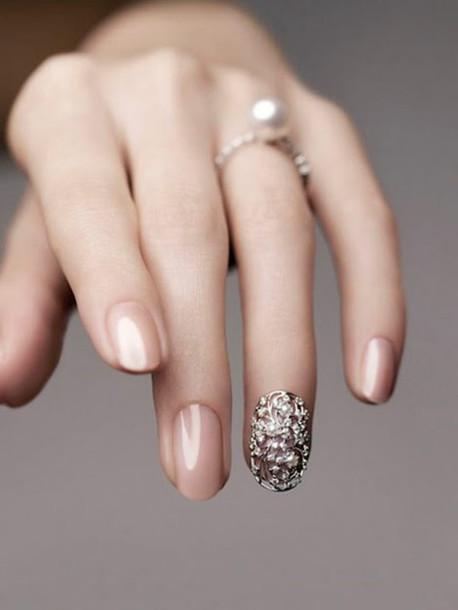 Bijuterii pe unghii cu gel 7