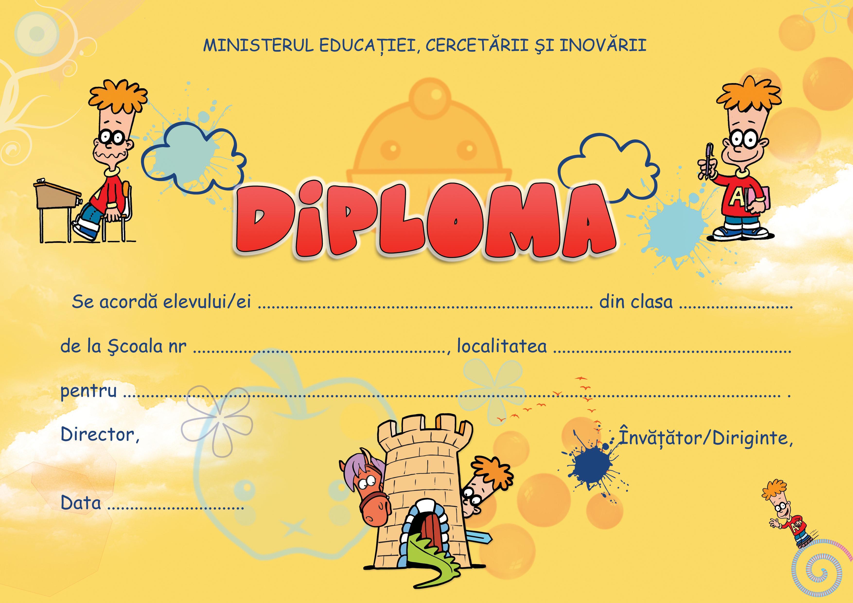 Diploma scolara - edu.ro
