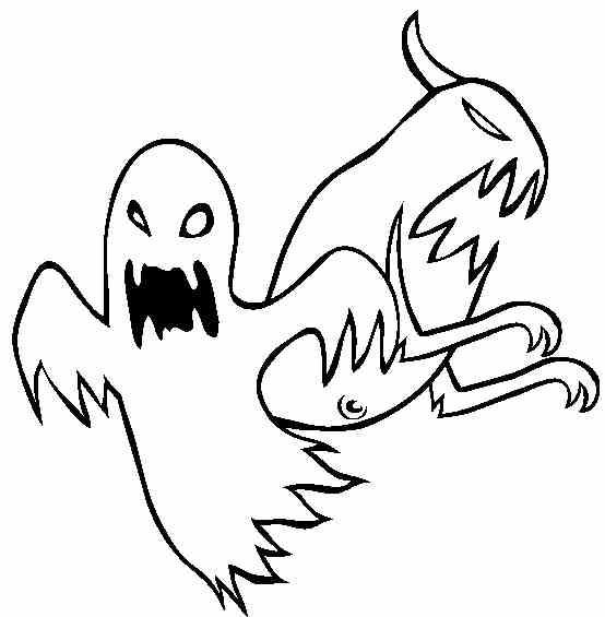 Fantome de halloween