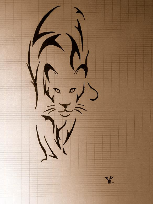 Tatuaj leopard