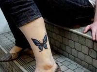 Tatuaje picior fete 13