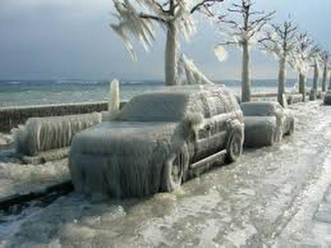 """Freezing rain"" sau ploaia inghetata"