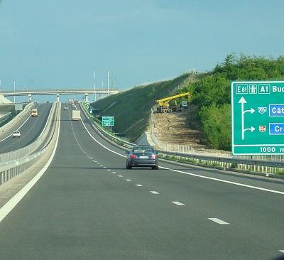 Circula cu 191 km/h pe Autostrada A1
