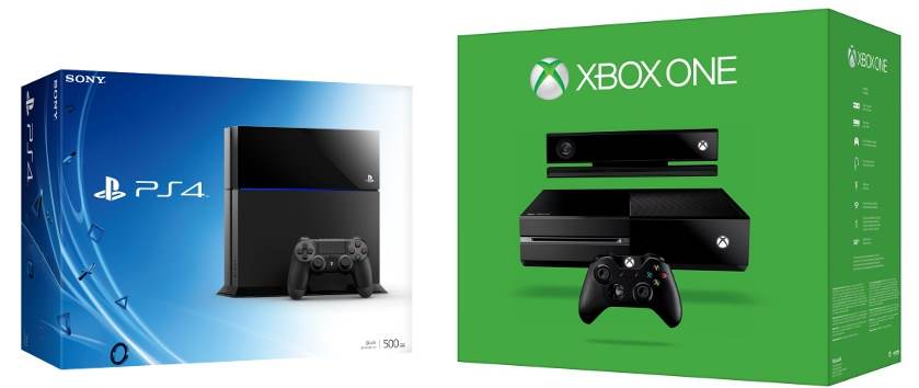 Comparatie intre XBox One si PS4