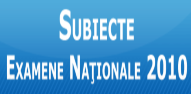 Evaluare nationala 2010