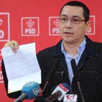 PSD: Conferinta de presa sustinuta de Victor Ponta